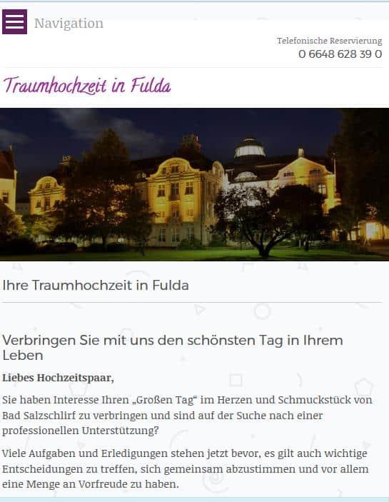 Traumhochzeit Fulda