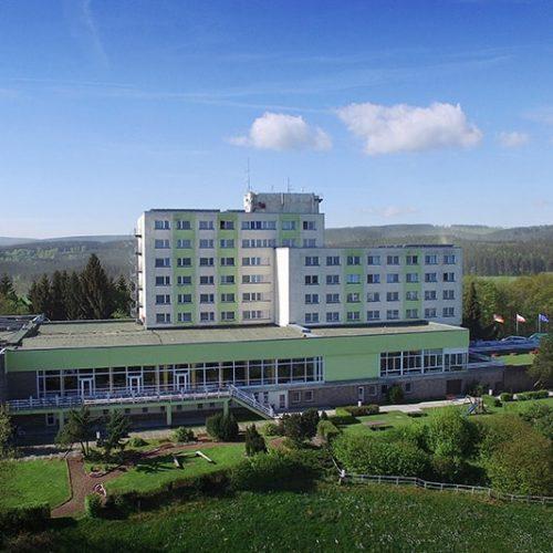 Ferien Hotel Rennsteigblick Außenansicht